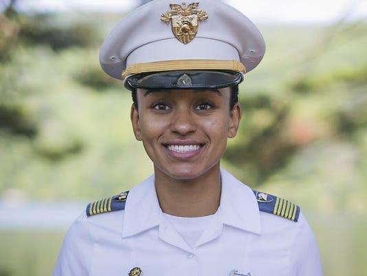West Point Black Woman Cadet Leader