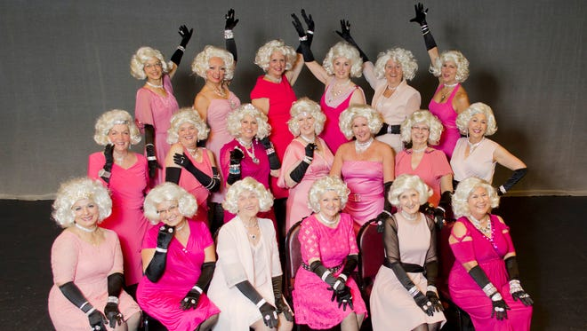 """The Recycled Rockettes, a production of the Hartland Senior Activity Center, will perform """"Americana,"""" spotlighting songs like """"Boogie Woogie Bugle Boy,"""" """"Proud to be an American,"""" """"Over There,"""" """"Singing in the Rain"""" and more."""