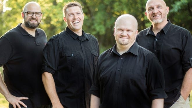 XTA Barbershop Quartet members are Jeff Goenner (baritone), Kris Ling (bass), Mark Kalla (lead) andJeremy Ringsmuth  (tenor). They will perform Thursday at the AAUW fundraiser in St. Cloud.