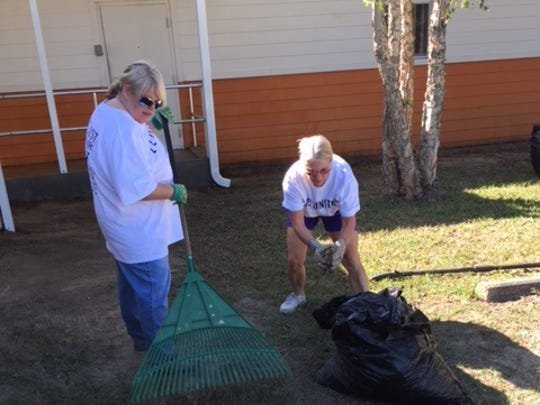 Nearly 100 Escambia County employees rolled up their