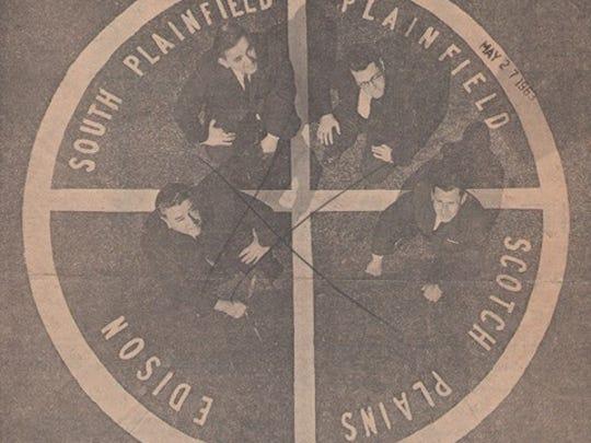 Mayors Robert Maddox of Plainfield, Norman Lacombe