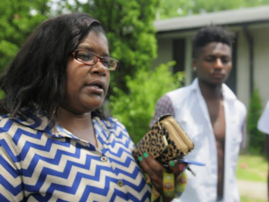 Ladarrius' mother, Catrina Gentry, said Tuesday that