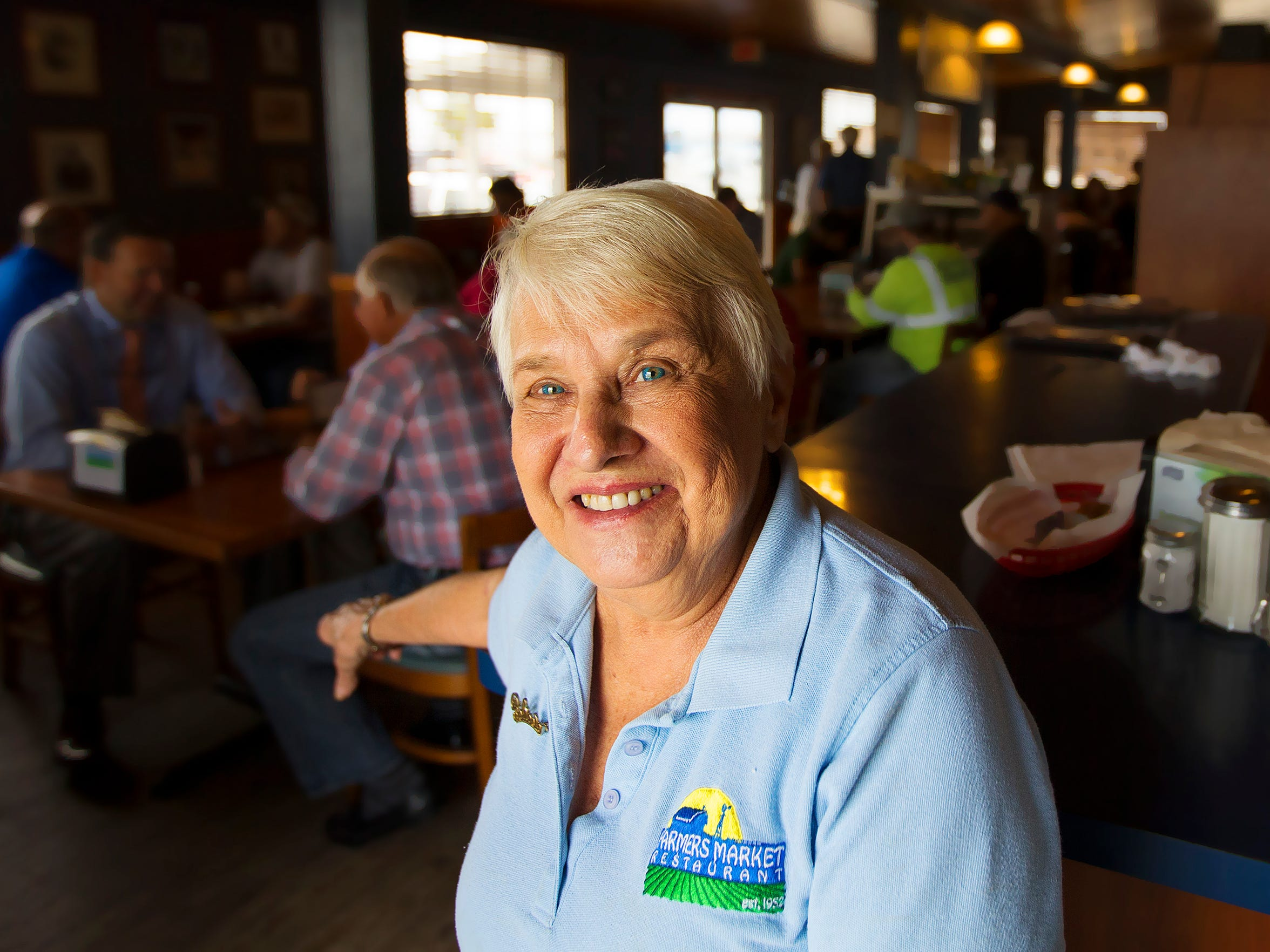 Antoinette Wicburg of the Farmer's Market Restaurant