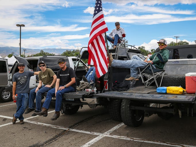 The Reno Rodeo Redneck Truck Show June 18 attracted