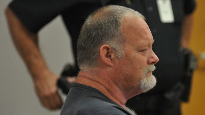 The sentencing at the Moore Justice Center in Viera of Dennis Turner, former drama teacher at Edgewood Junior/Senior High School in Merritt Island, for an inappropriate sexual relationship with an underage female student between 2003 and 2006. Judge James Earp sentenced him to 20 years in prison, followed by 10 years of supervision.