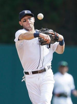 Tigers second baseman Ian Kinsler.