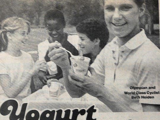 Yogurt was mostly unknown when Beth Heiden promoted it in 1983.