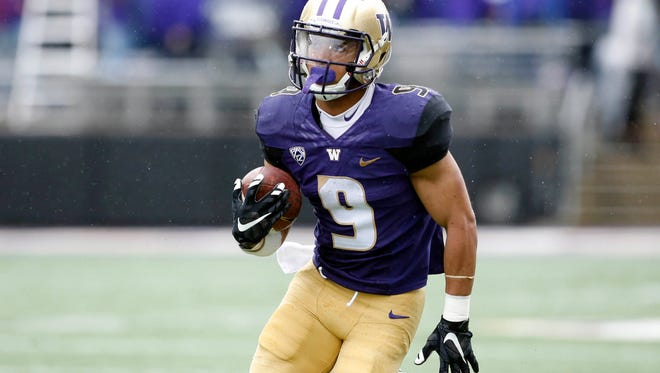 Washington Huskies running back Myles Gaskin should be primed for another big season as UW aims to repeat as Pac-12 champions.
