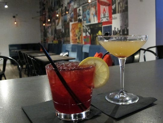 Two creative cocktails at the new Public House on the