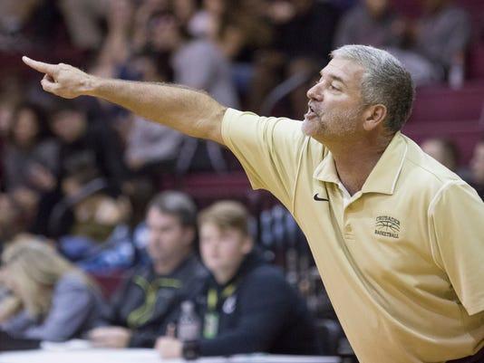 Catholic vs Navarre basketball
