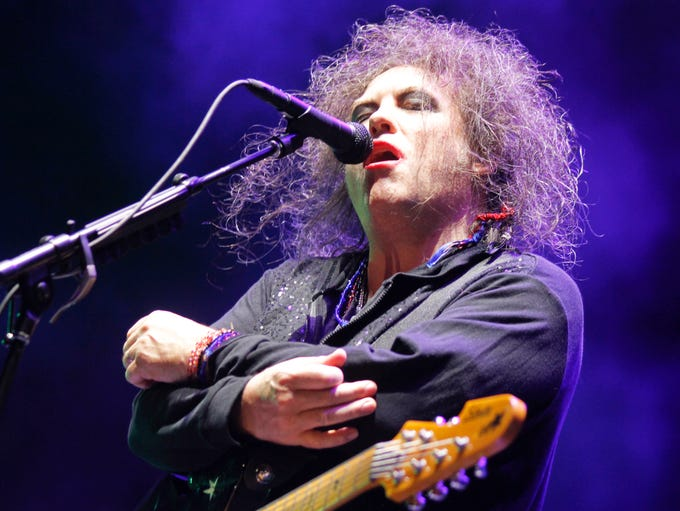 The Cure's seminal album 'Disintegration' is 25. Yes, 25.<br /> <br /> Since The Cure formed in 1976, Robert Smith's moody blend of post-punk rock and pop has been felt not only in music but in all of pop culture, from movies to comics. Let's take a look back.<br /> <br /> Here, he performs at the 2013 Austin City Limits Music Festival.