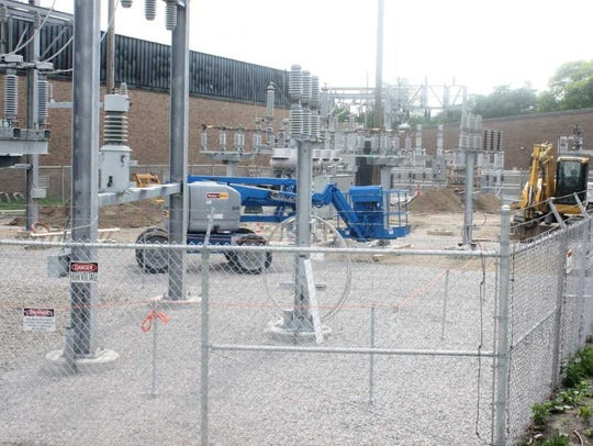 Downtown Plymouth transformers as of June 15.