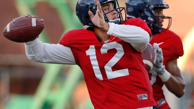Arizona redshirt freshman Anu Solomon is one of three quarterbacks in the mix to start the Wildcats' season opener against UNLV on Friday.