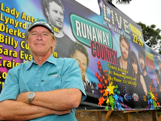 Runaway Country Executive Producer Gary McCann says he has increased security procedures over the years at his country music festival,