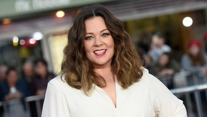 Melissa McCarthy attends the Los Angeles premiere of her new movie 'The Boss' in Westwood, Calif., on March 28, 2016.