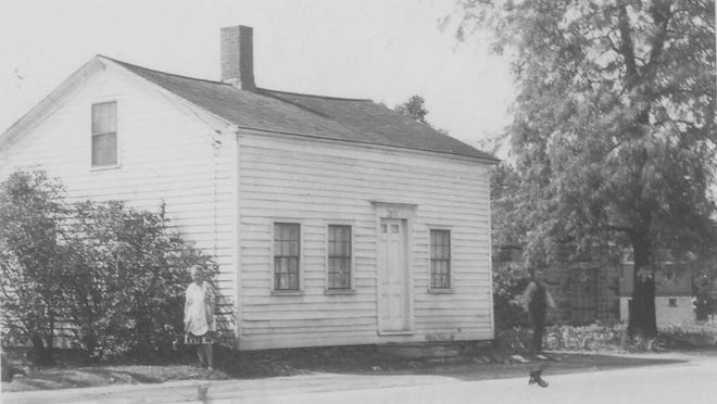 The Pioneer House as it appeared in 1940.