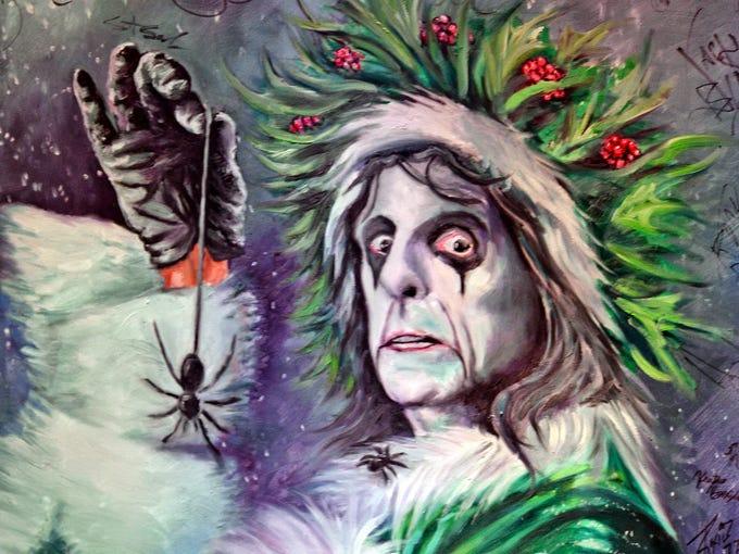 Alice Cooper's annual Christmas Pudding show, Comerica