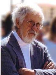Artist Tom Knapp, who held artistic court at the Buckhorn,