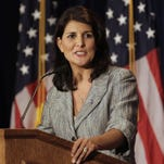 South Carolina Gov. Nikki Haley said Tuesday she is willing to accept a smaller income tax cut as part of her tax reform and road-funding plan.