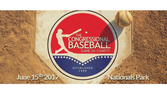 The annual Congressional Baseball Game for Charity features Republicans vs. Democrats.