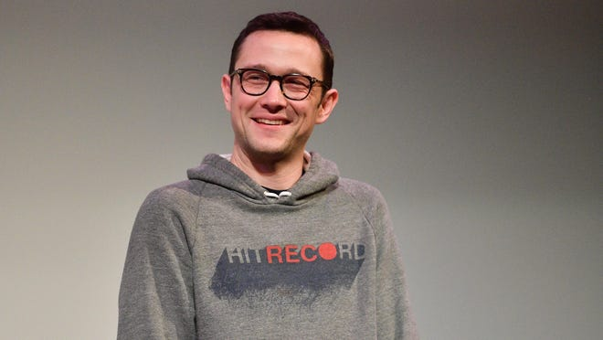 Joseph Gordon-Levitt  speaks onstage during the Band Together With Logic 2019 SXSW Conference and Festivals at Paramount Theatre in 2019 in Austin.
