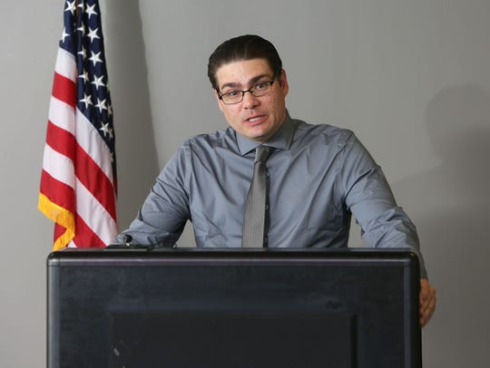 Libertarian candidates held a press conference on Saturday,