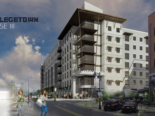 College Town Phase III rendering