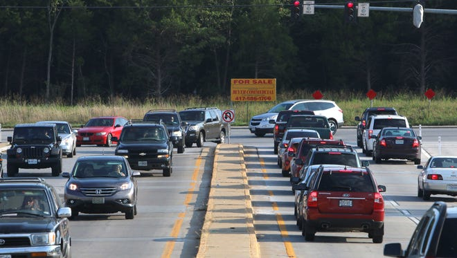 Plans call for Kansas Expressway to be extended about two miles south of its current endpoint at Republic Road.