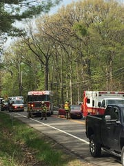 Emergency crews are responding to a multi-car crash on Route 89 near Glenwood Heights Road.