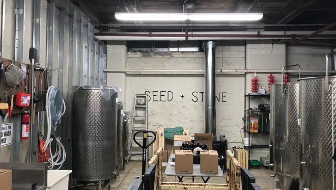 Rochester's first urban cidery in a long, long time, Seed + Stone, is housed in the basement of the Hungerford Building.