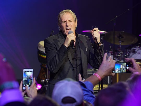 Michael Bolton wowed the sold-out crowd by joining the Rheneypalooza Jam as a surprise guest at the JW Marriott Desert Springs.