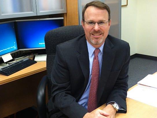 Eric Bond is Augusta County school superintendent
