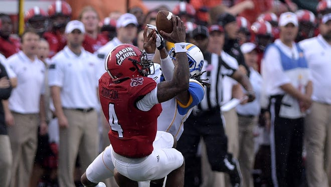 UL senior receiver Jamal Robinson should be good to go when the Ragin' Cajuns visit No. 14 Ole Miss on Saturday.