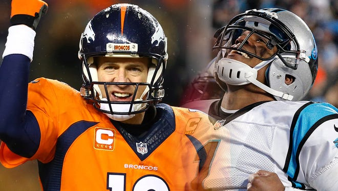 The Denver Broncos and Carolina Panthers meet with the media for the first time during the NFL prime time event: Super Bowl 50 Opening Night.