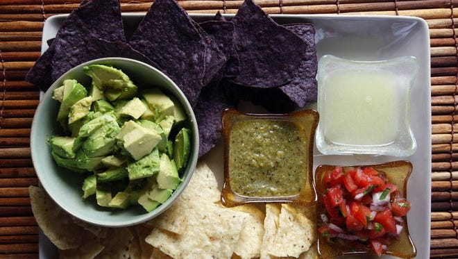 Seviche's guacamole
