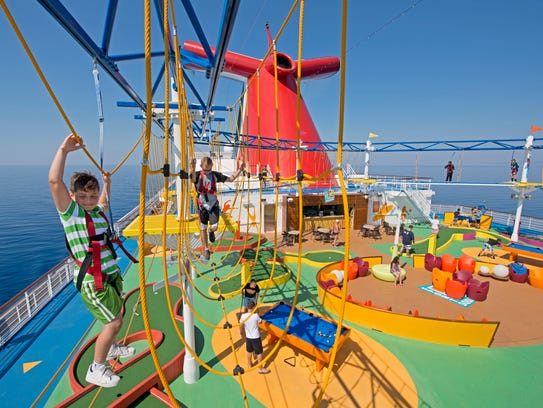 Carnival Cruise Lines was voted by USA TODAY 10Best