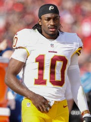 Robert Griffin III will have to look beyond Washington