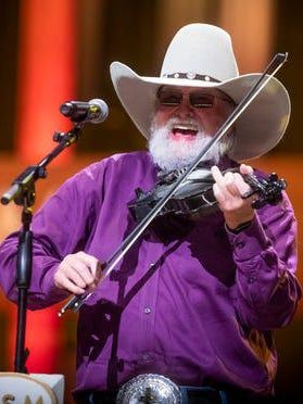 Charlie Daniels performs at the Grand Old Opry House Oct. 15, 2019. Daniels died Monday at age 83.
