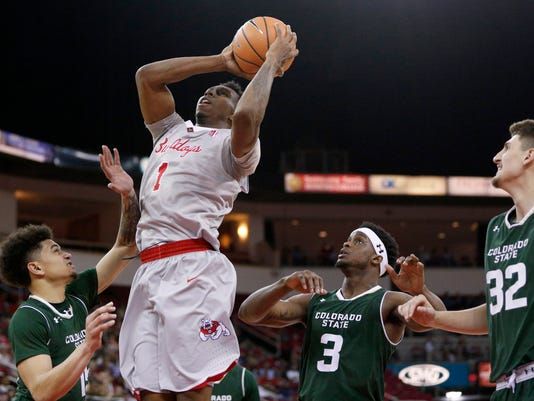 NCAA Basketball: Colorado State at Fresno State