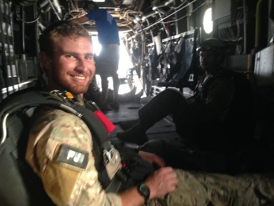 Staff Sgt. Carl Enis, 31, was among the seven Airmen