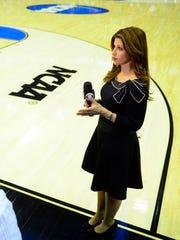 Broadcaster Rachel Nichols is a 1995 Northwestern graduate.