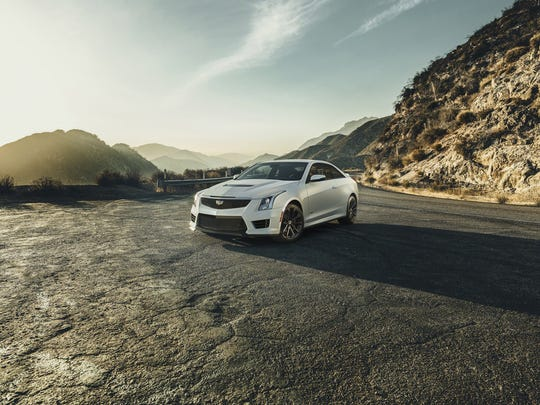 The Cadillac ATS-V Coupe is rated at an estimated 455 horsepower (339 kW) and 445 lb-ft of torque (603 Nm), the 3.6L V-6 is the segment's highest-output six-cylinder and enables 0-60 performance of less than 4 seconds and a top speed of more than 185 mph.
