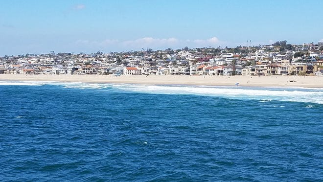 The 1.4-mile beach village of Hermosa is the very essence of the casual coastal lifestyle of SoCal.