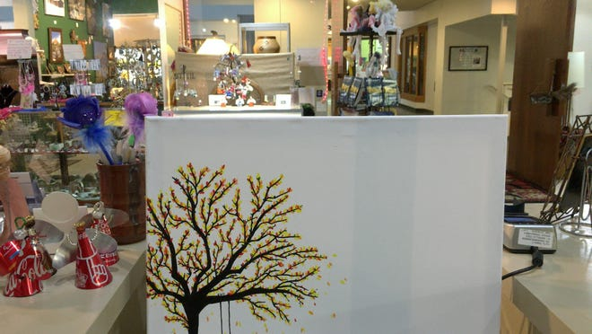 Montana Mosaic is the featured location during this month's First Friday Art Walk. Stop by to help finish a painting live in the store.