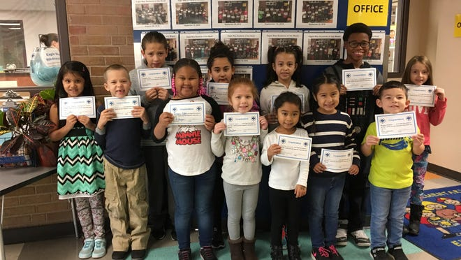 Pictured are McKinley Elementary's most recent Eagle Way Students of the Week.