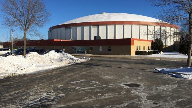 Brown County Veterans Memorial Arena in Ashwaubenon