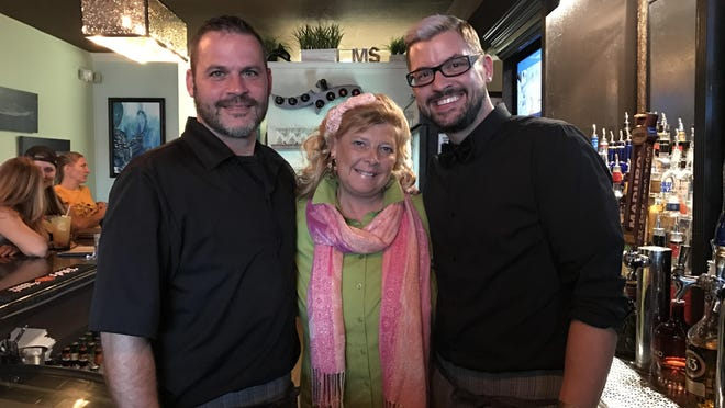 Jason Sipes, J. Marie Sheppard and Michael K. Wood are turning 87 Main Street Spirits into a new favorite hangout in Cocoa Beach.