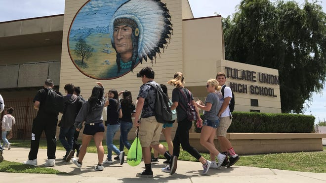 Students rally behind teachers after allegations.