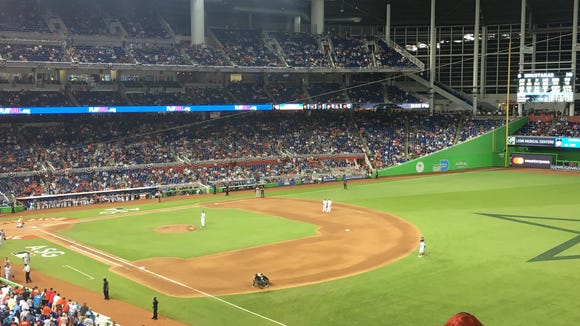The All-Star Game went to extra innings but half the crowd was already gone