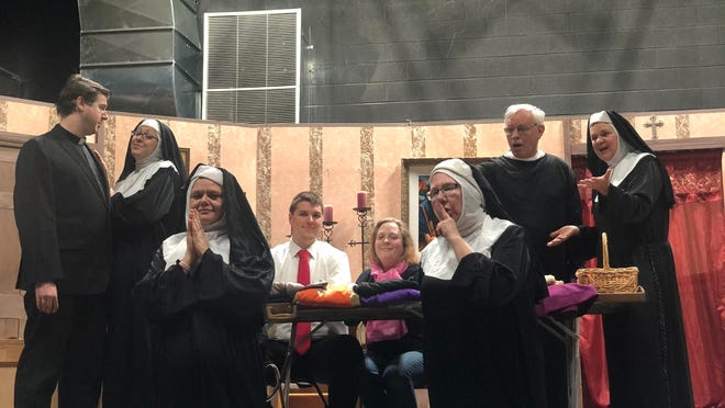 """The St. Casimir Players, a new theater group, is putting on Tom Smith's """"Drinking Habits"""" as a parish fundraiser with performers Friday, Saturday and Sunday at the St. Casimir Holy Family Center, 815 Sparrow Avenue in Lansing."""
